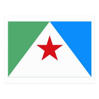 Bandeira de Mérida Cartão Postal