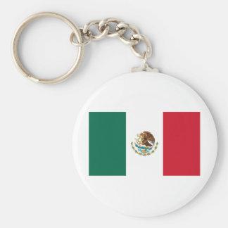 Bandeira de México Chaveiro
