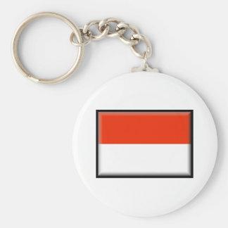 Bandeira de Monaco Chaveiros