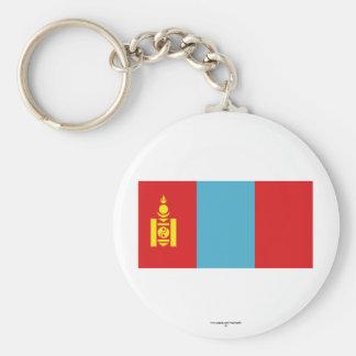Bandeira de Mongolia Chaveiro