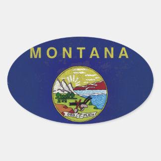 Bandeira de Montana Adesivo