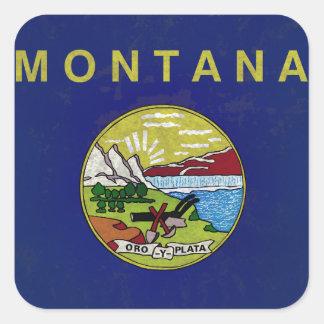 Bandeira de Montana Adesivos