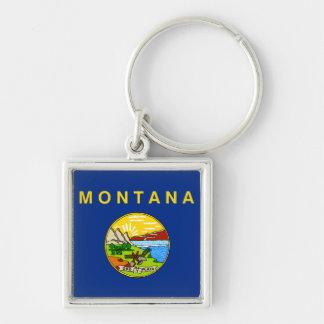 Bandeira de Montana Chaveiros