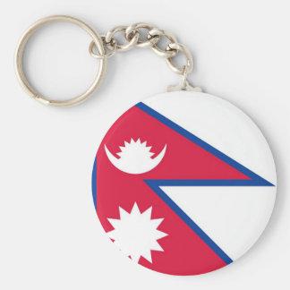 Bandeira de Nepal - नेपालकोझण्डा Chaveiro