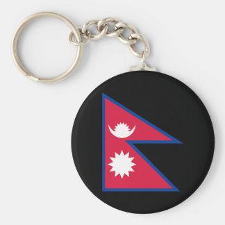 Bandeira de Nepal Chaveiro
