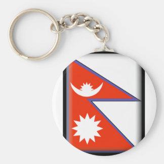 Bandeira de Nepal Chaveiros