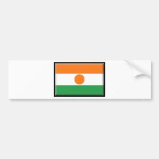Bandeira de Niger Adesivo Para Carro