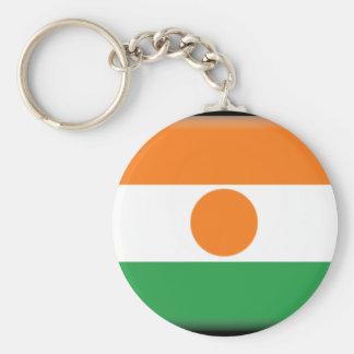 Bandeira de Niger Chaveiro
