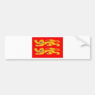 Bandeira de Normandy (France) Adesivo Para Carro