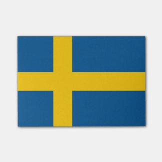 Bandeira de notas do Cargo-it® da suecia Sticky Notes