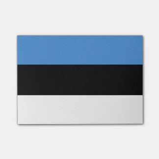 Bandeira de notas do Cargo-it® de Estónia Bloquinhos De Notas