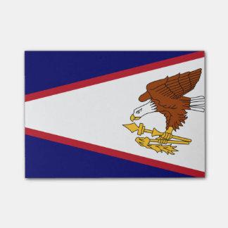 Bandeira de notas do Cargo-it® de Samoa Americanas Post-it Notes