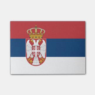 Bandeira de notas do Cargo-it® de Serbia Post-it Notes