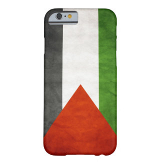 Bandeira de Palestina - Grunge Capa iPhone 6 Barely There