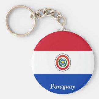 Bandeira de Paraguai Chaveiro
