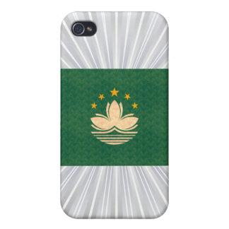 Bandeira de Pern Macese do vintage iPhone 4 Capas