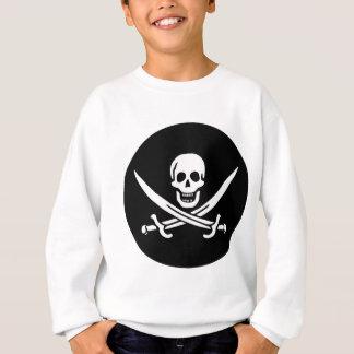 Bandeira de pirata agasalho