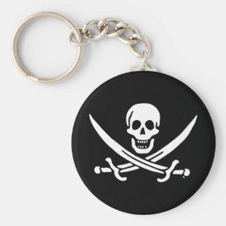 Bandeira de pirata alegre de Roger Chaveiro