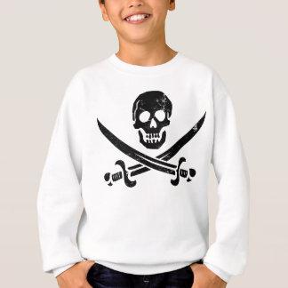Bandeira de pirata Roger alegre de John Rackham Agasalho