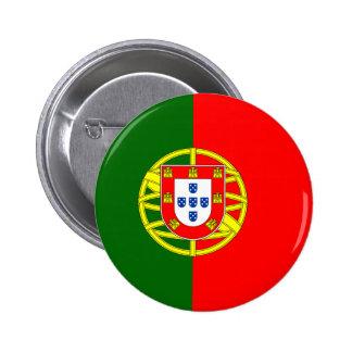 Bandeira de Portugal Bóton Redondo 5.08cm