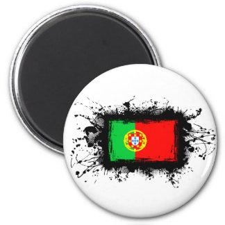 Bandeira de Portugal Ímã Redondo 5.08cm