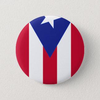 Bandeira de Puerto Rico - bandera de Puerto Rico Bóton Redondo 5.08cm