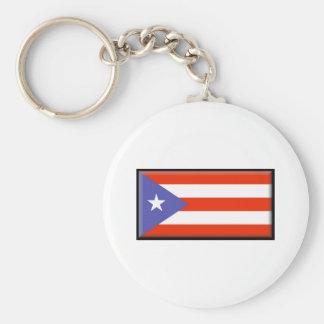 Bandeira de Puerto Rico Chaveiros
