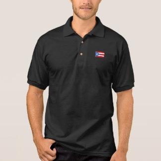 Bandeira de Puerto Rico T-shirt Polo