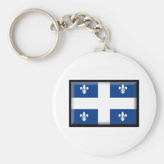 Bandeira de Québec Chaveiros