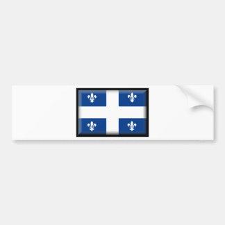 Bandeira de Quebeque (Canadá) Adesivo Para Carro