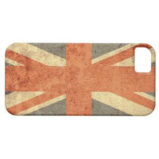 Bandeira de Reino Unido - Grunge Capa Barely There Para iPhone 5