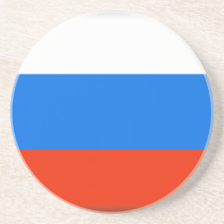 Bandeira de Rússia Porta Copos