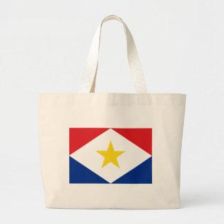 Bandeira de Saba Bolsa Tote Grande