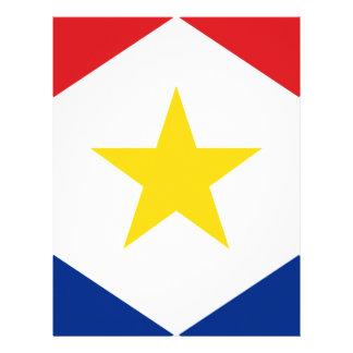 Bandeira de Saba Papel Timbrado
