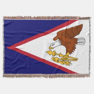 Bandeira de Samoa Americanas Cobertor