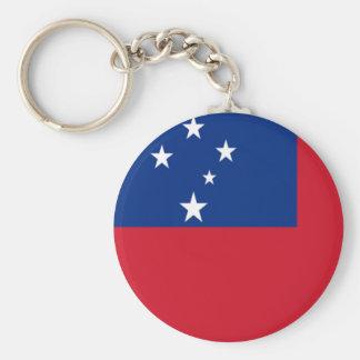 Bandeira de Samoa Chaveiro