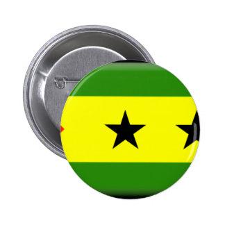 Bandeira de São Tomé Principe Pins