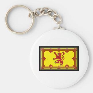 Bandeira de Scotland Chaveiro