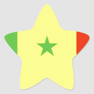 Bandeira de Senegal Adesito Estrela