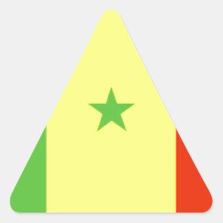 Bandeira de Senegal Adesivo Em Forma De Triângulo