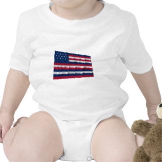 Bandeira de Serapis Macacãozinho Para Bebês