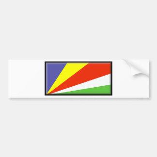 Bandeira de Seychelles Adesivo Para Carro