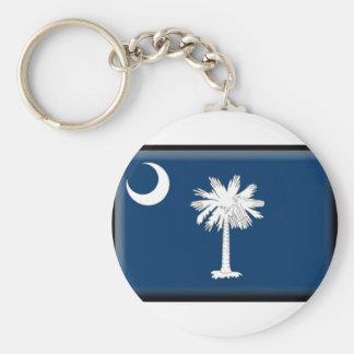 Bandeira de South Carolina Chaveiros