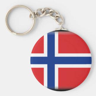 Bandeira de Svalbard janeiro Mayen (Noruega) Chaveiro