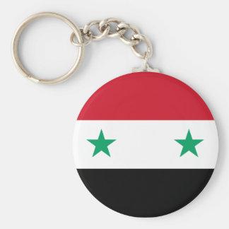 Bandeira de Syria Chaveiro