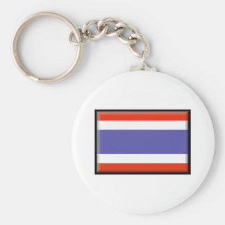 Bandeira de Tailândia Chaveiro