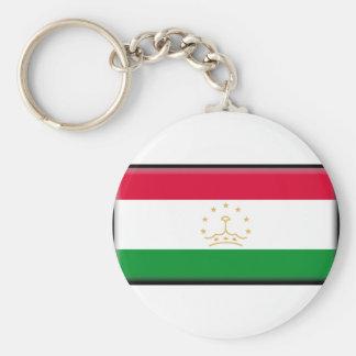 Bandeira de Tajikistan Chaveiro