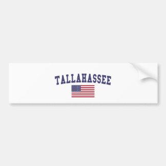 Bandeira de Tallahassee E.U. Adesivo Para Carro