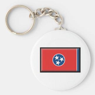 Bandeira de Tennessee Chaveiro
