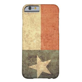 Bandeira de Texas - Grunge Capa Barely There Para iPhone 6